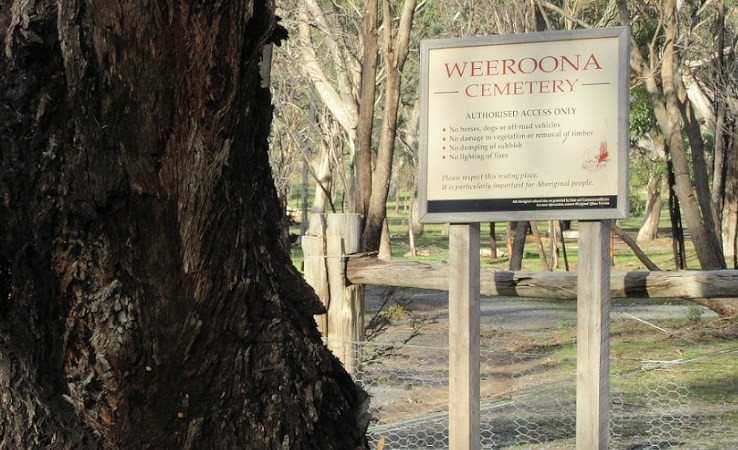 Weeroona Cemetery.